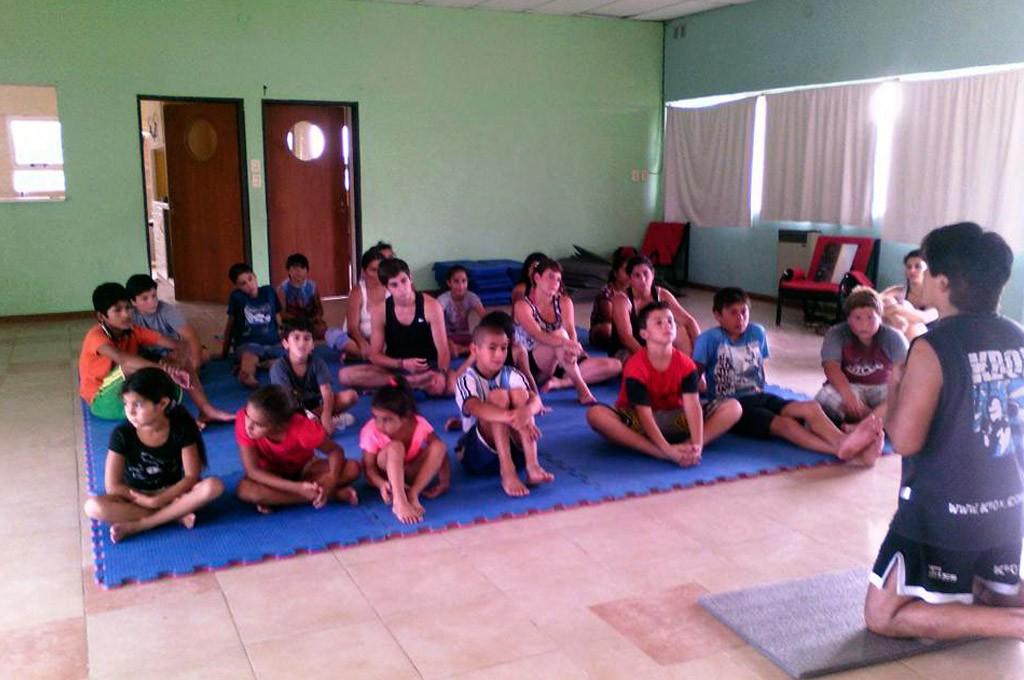 Actividades en el CIC de los barrios Fonavi y Sur