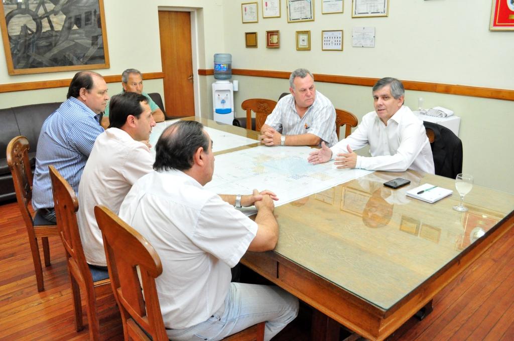 El intendente recibió a las autoridades de la UCR local
