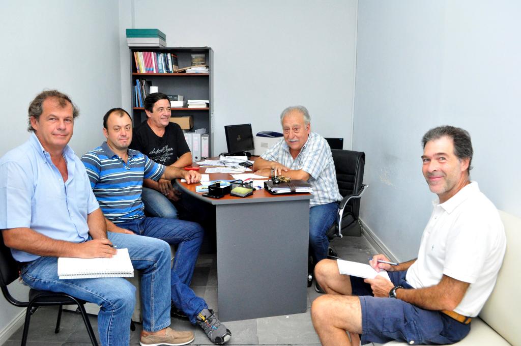 El coordinador del CUCH reunido con diferentes referentes del agro