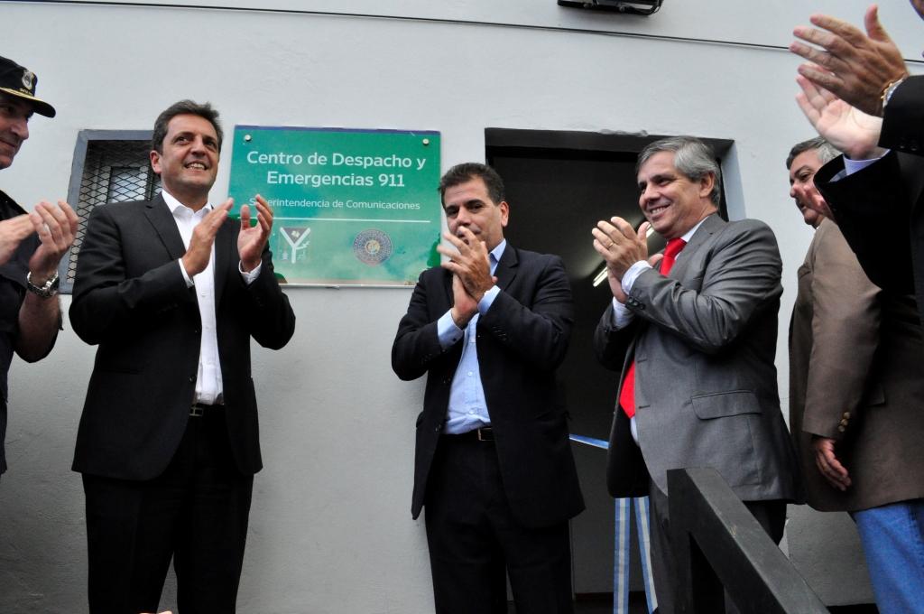 Se reinauguró el Centro de Despacho y Emergencias 911