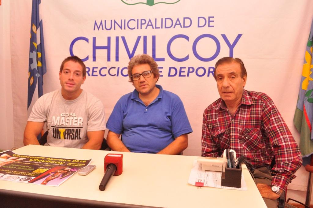 Laureano Ferrante, Oscar Fernández e Ito Cruz