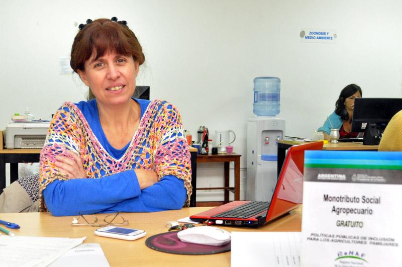 Licia Lapolla, técnica de la secretaría de Agroindustria Familiar del Ministerio de Agroindustria de la Nación