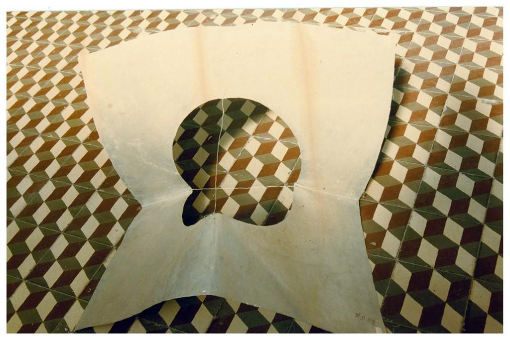 """""""Forma"""", de Mario Oscar Casas. Aluminio."""