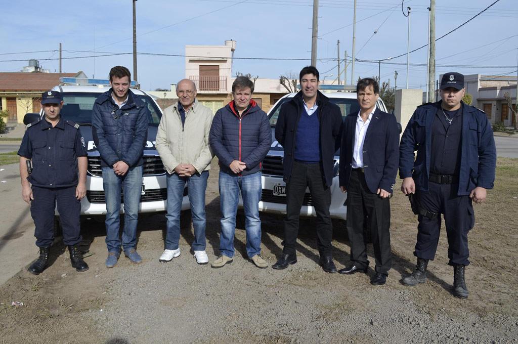 Alejo Cuadrelli, Eduardo Bianchi, Carlos Perillo, Marcelo Loyola y Joselino Baez