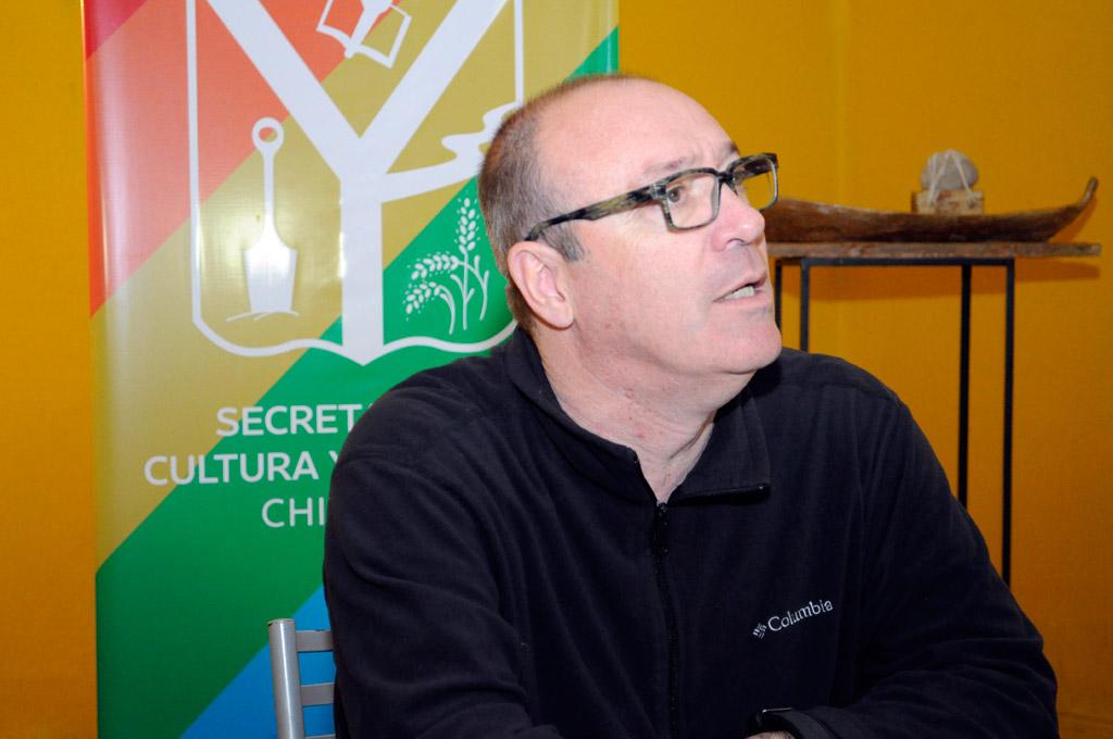 Adrián Vila, secretario de Cultura y Educación
