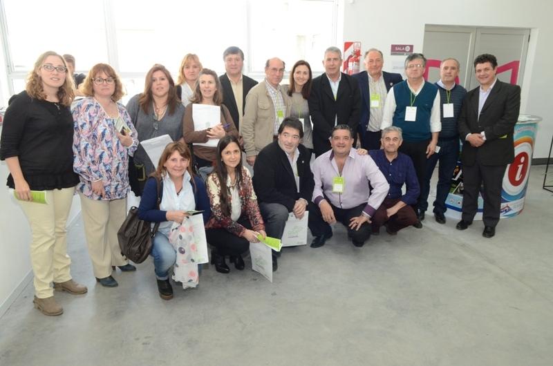 Caprara y Vilalta presentes en la Primera Expo-Residencias de la provincia