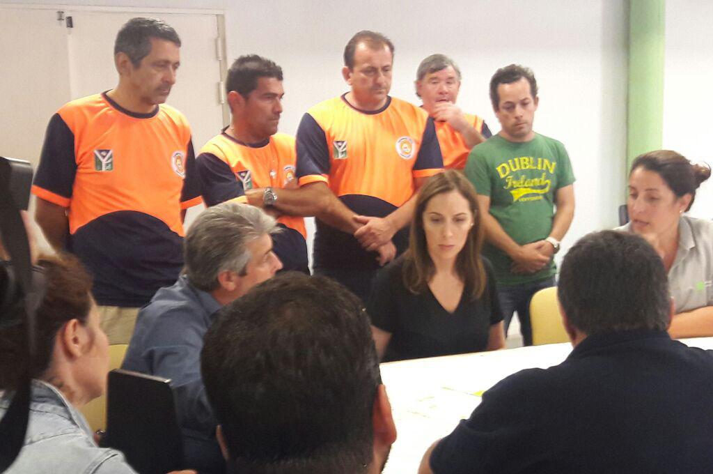 Defensa Civil de Chivilcoy brinda ayuda en Pergamino