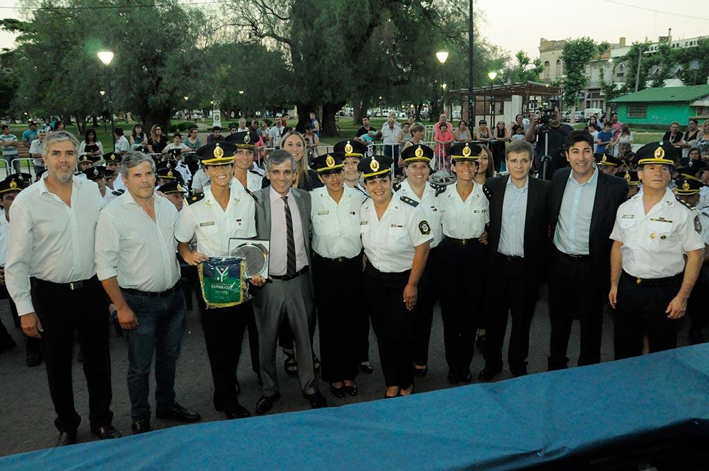 Reconocimiento a Policías por su labor anual