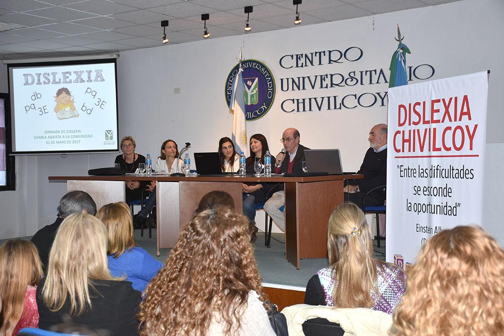 Se realizó la primera jornada de Dislexia en Chivilcoy