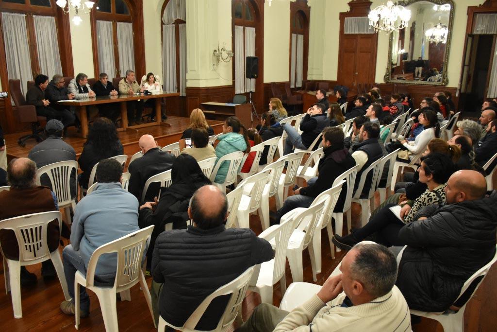 La Municipalidad convocó a vecinos para ampliar la red de gas
