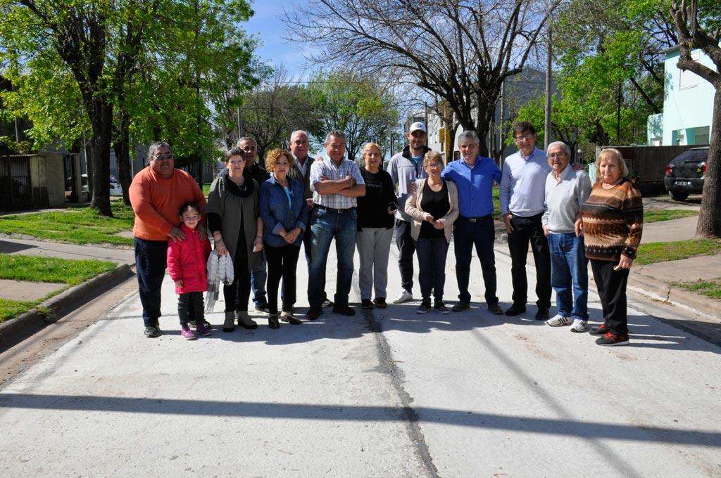 Se concretó la obra de asfalto en el Barrio Fonavi